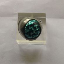 GROS CABOCHON TURQUOISE VINTAGE 90S