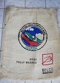 SAC DE CAFE EN JUTE ORIGINE REP. DOMINICAINE