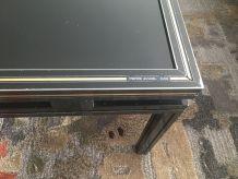 Table basse noire Vintage Pierre Vandel