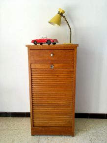 Classeur à rideau vintage années 50