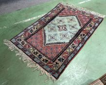Tapis marocain en laine fait main - 160x105cm