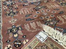 Tapis pakistanais en laine et soie - 1m88 x1m23