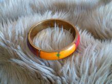 Bracelet laiton marqueté Inde