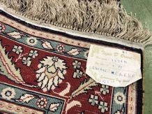Tapis en laine et soie fait main - 152x91cm.