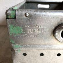 Panier métallique vintage 50's