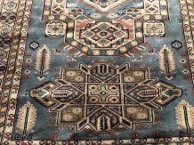 Tapis pakistanais en laine et soie fait main - 1m80 x1m31