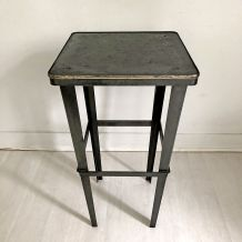 Table d'appoint industriel vintage 50's