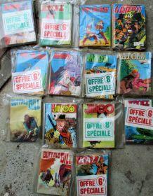 50 comics années 80 originaux