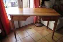 bureau début de siècle , 2 tiroirs