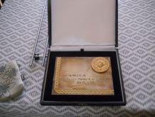 médaille d'honneur du Commerce (plaque)
