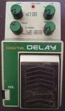 Pédale guitare Ibanez DDL Digital Delay VINTAGE