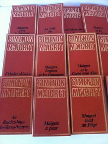 Lot de 22 romans G . SIMENON