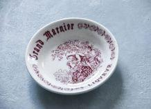 Cendrier Grand Marnier porcelaine de Gien