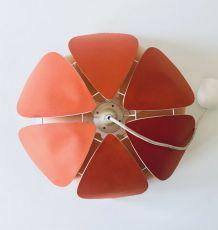 Suspension fleurs vintage années 70