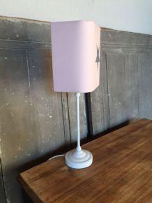 Lampe sur pied avec abat  jour