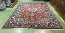 Grand tapis en laine iranien fait main - 3m70 x 2m96