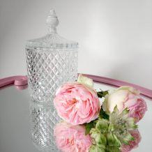 Bonbonnière, pot en verre