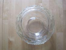 Beau vase en verre art déco 1930/1940