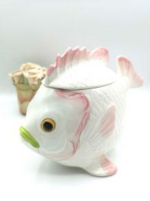Pot poisson en céramique