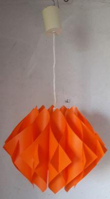 Suspension orange « Papillon » par Lars Shiøler pour Hoyrup