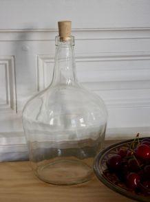 Bonbonne verre transparent VIRESA
