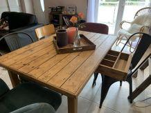 Table en boisson vintage