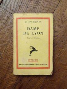 Dame De Lyon- Joseph Jolinon- Rieder - 1932
