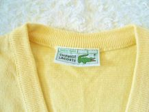 "Debardeur  jaune ""Lacoste"""