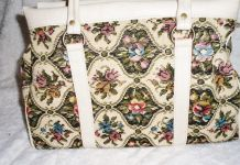 Sac tapisserie vintage