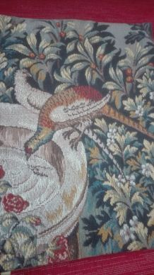 Lot deux tapisseries murales