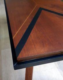 VENDU   Table basse vintage pieds compas année 60