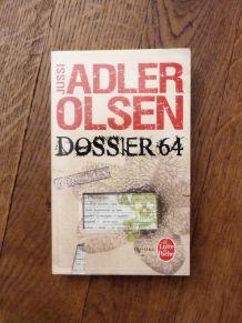 Dossier 64-La Quatrième Enquete Du Département V-Adler Olsen
