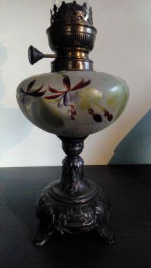 Lampe à pétrole  Matador peint main