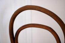 Paire de chaises Thonet début XXe