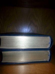 livres  l'ile Mystérieuse Jules Verne 2 tomes Jean de Bonnot
