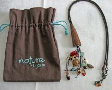 Collier nature bijoux