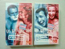 """2 cassettes VHS """"Un gars, une fille"""""""