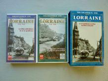"""Coffret 2 cassettes VHS """"Mémoires de Lorraine"""""""