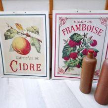 Affiches publicitaires cartonnés