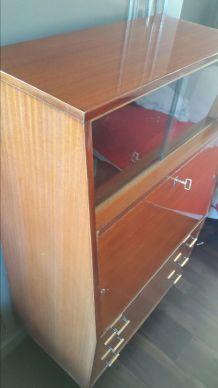 Secrétaire, bureau vintage scandinave