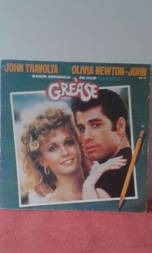 2 vinyles 33T: Grease.