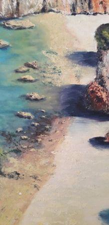 Tableau - Peinture à l'huile- L'algarve