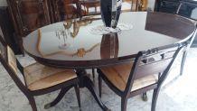 Salle à manger style régency années 60 bahut et 4 chaises