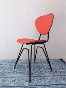 Chaise eiffel vintage années 50 moderniste