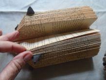 Hérisson en papier plié