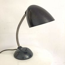 Lampe vintage 60's en métal et bakelite