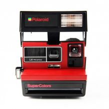 Polaroid Supercolor rouge