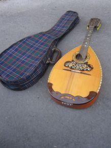 Mandoline luthier René Gérôme MIRECOURT
