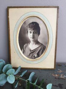 Portrait de femme ancien