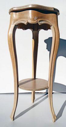 Sellette en bois peint